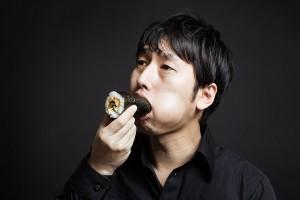 恵方巻きの食べ方