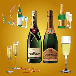 シャンパンとスパークリングワインの違い