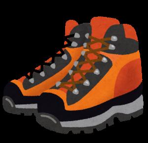 登山靴をワックスで手入れ