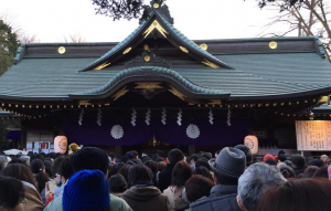 大國魂神社くらやみ祭り2015年