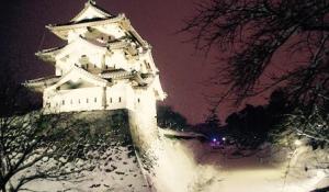 弘前城の桜の見ごろ