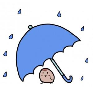 降水確率ゼロとレイの違い