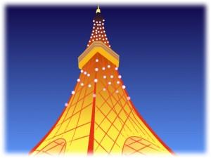 東京タワーで七夕デート