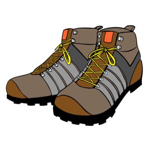 登山靴のサイズの選び方は大きめ