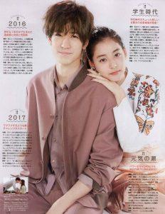 新木優子と中島裕翔
